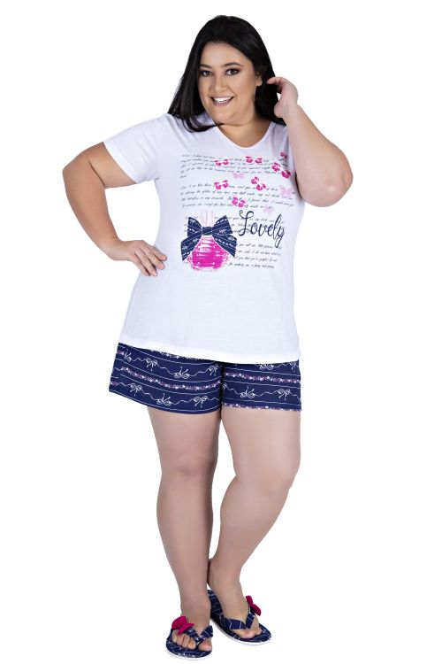 Baby Doll Manguinha Plus Size