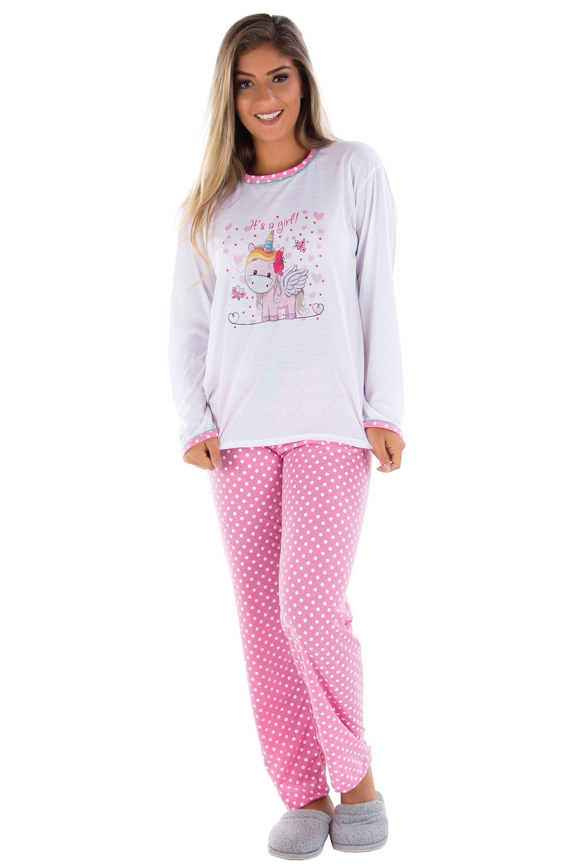2d4432fd5 Pijama Adulto Unicórnio - Dondocas Lingerie - Vendas no atacado e varejo!