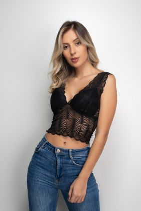 Cropped Renda Bojo Soft